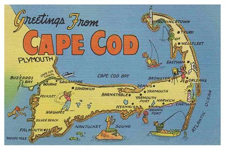 Land-Sat Image of Cape Cod